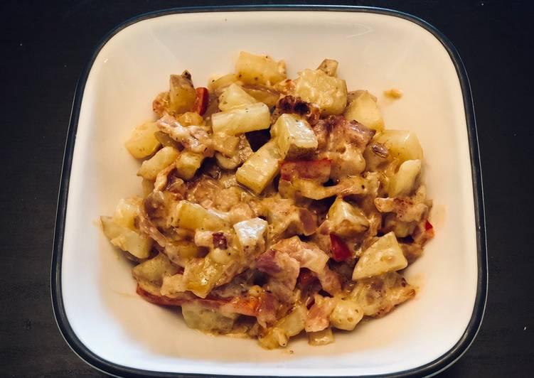Creamy Breakfast Potatoes