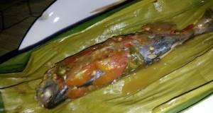 Pepes Ikan layang