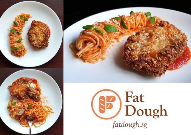 Chicken Parmesan + Spaghetti