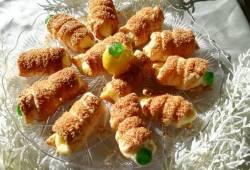 Ricette di cucina Cristallo di sfoglia con crema al limone! delizioso