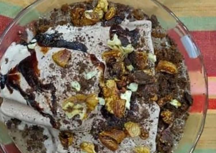 Oreo chocolate icecream truffle