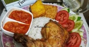 Pecel Ayam Sambal Nanas