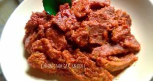 Daging masak merah selasaBISA BikinRamadhanBerkesan