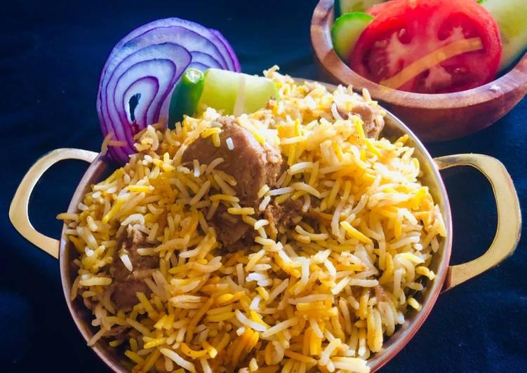 Kolkata style Chicken Briyani