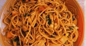 Spaghetti Bacon Black Pepper