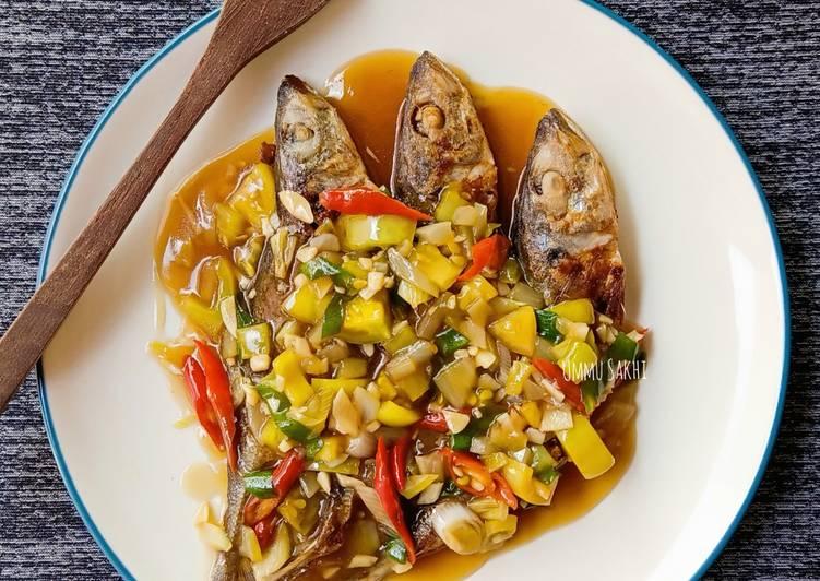 Ikan japuh bumbu tiram