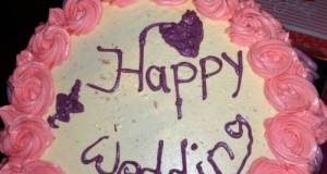 Cake wedding ala-ala sendiri
