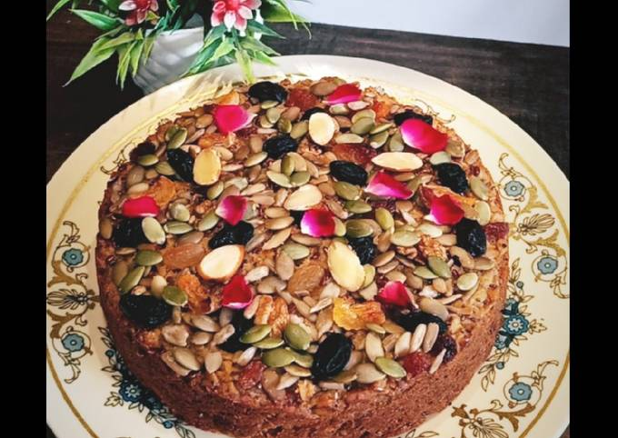 Oats Cake (Gluten Free and sugar free)