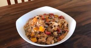 Noom Friendly Instant Pot Brown Rice Chicken Risotto