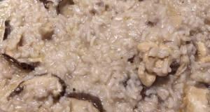 Chicken Mushroom Risoto