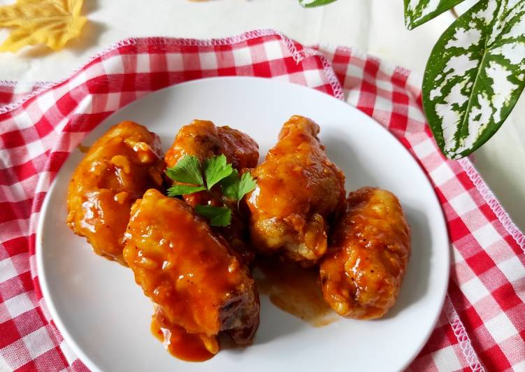 Honey Spicy Chicken Wings