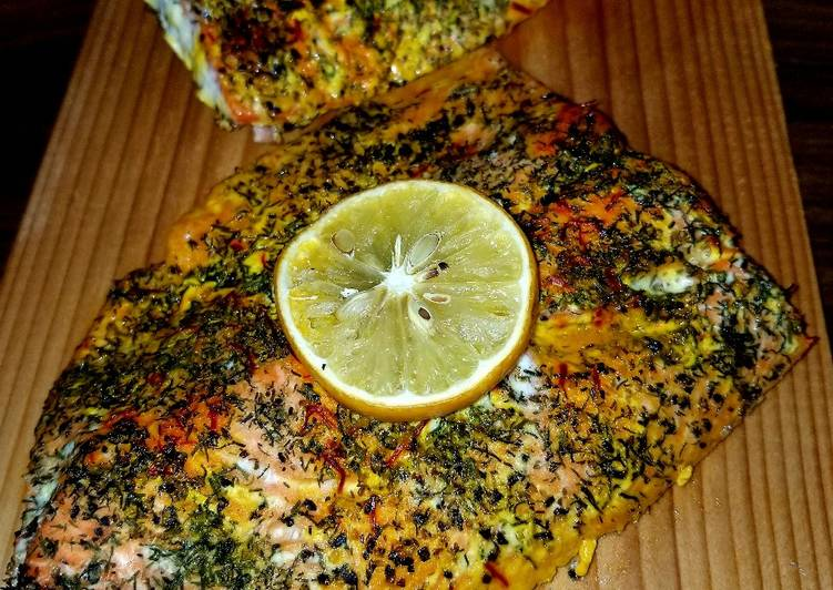 Mike's Complete Salmon Dinner [Grilled Or Baked]
