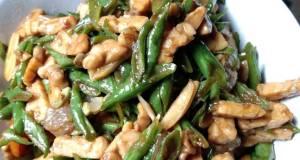 Tumis Kacang Panjang Plus Tempe