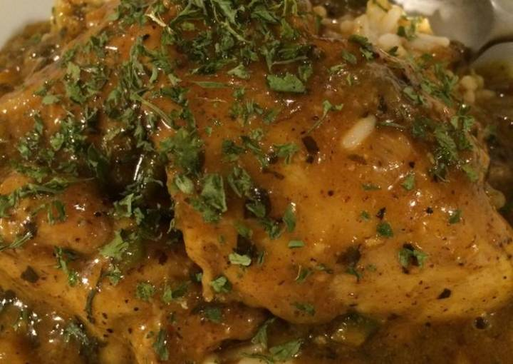 Curry Chicken Thighs