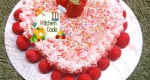 Cake Love Untuk Anniversary Wedding (Butter Cream Homemade)
