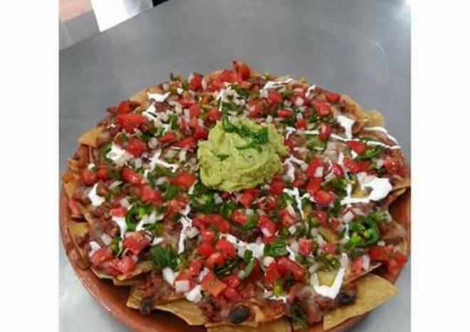 Chili con carne y nachos con Chili