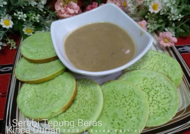 Serabi Tepung Beras Kinca Durian