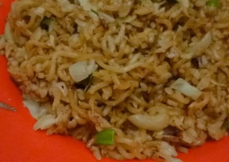 Nasi Goreng Mawut Udang Rebon