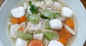 Sup Bakso Ikan Kembang Tahu