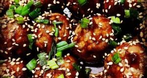 Easy Asian Glazed Meatballs