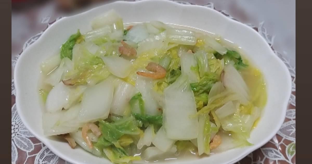 影的料理蹤跡 發表的 蝦米炒白菜 食譜 - Cookpad