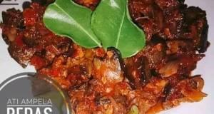 Ati ampela sambal Bawang