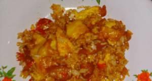 Nasi Goreng sosis telur endesss BikinRamadhanBerkesan
