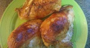 Simply Baked Chicken Breasts