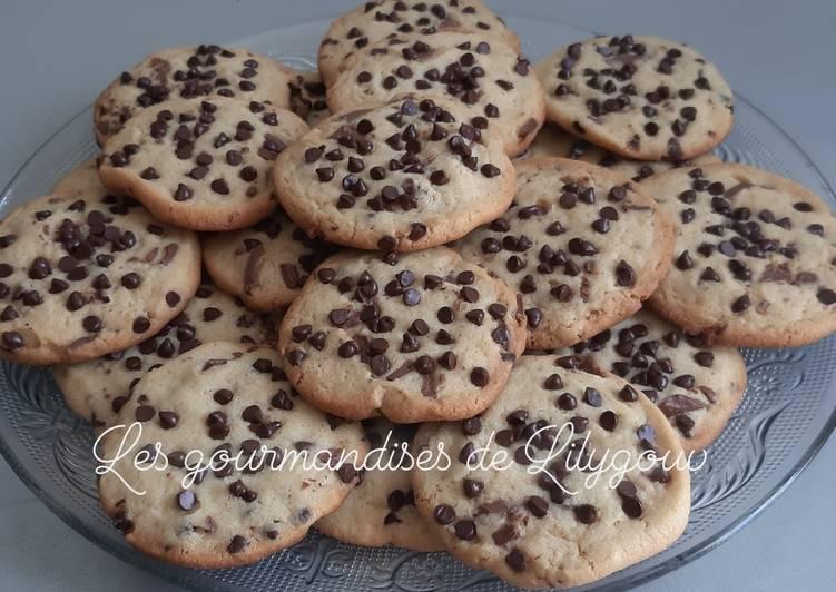 Cookie vanille et pépites de chocolat