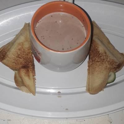 Toast bread and Tea Recipe by Ifeoma EjiroOghene Badu Abjm85 - Cookpad