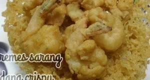 Kremes Sarang Udang Crispy