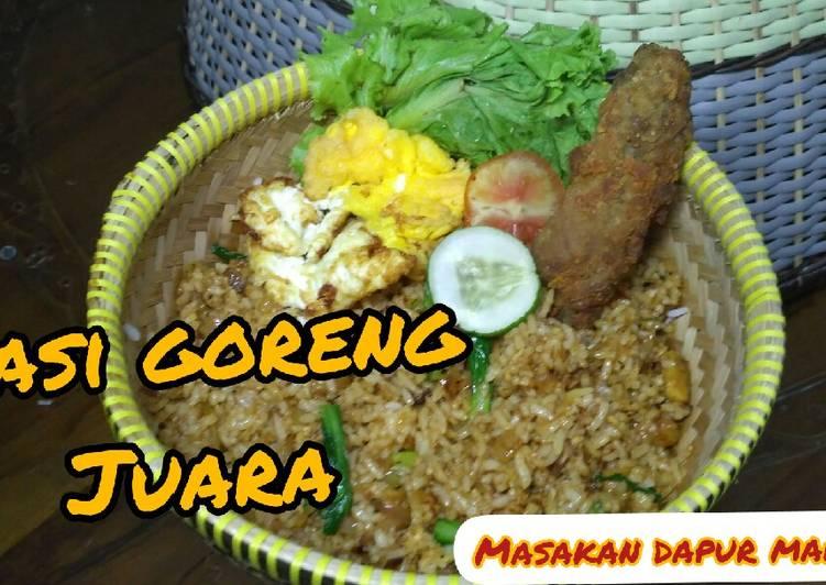 Resep NASI GORENG JUARA,, Spesial/Nasi Goreng Gila
