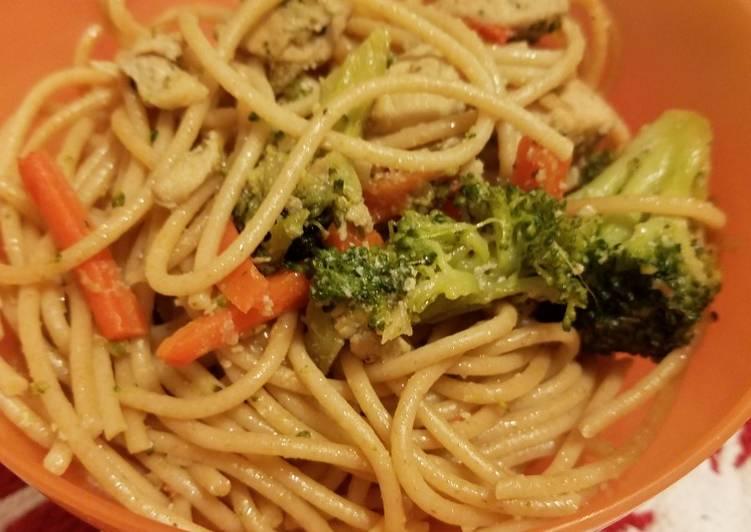 Chicken & Vegetables Stir Fry