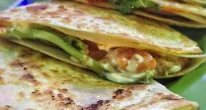 Cheesy Taco Quasadilla