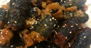 Seaweed Chicken Roll