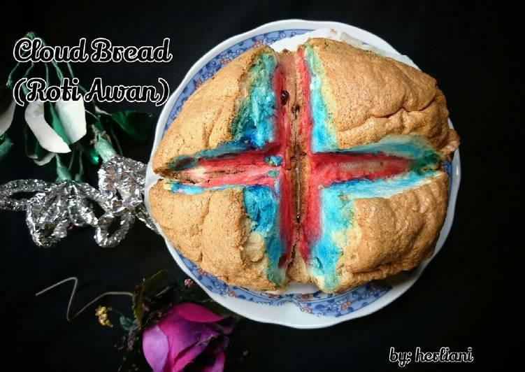 67. Cloud Bread (Roti Awan)