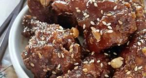 Dakgangjeong  Korean Sweet  Spicy Fried Chicken