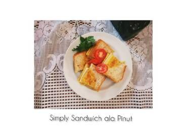 Resep Simply Sandwich ala Pinut Terenak