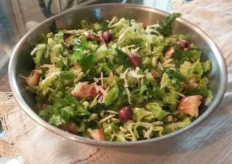 Prasini Salata/ Greek Spring Salad