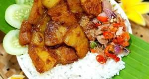 187. Pork belly kecap ala Bali