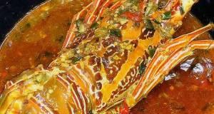 Lobster Asam Manis pedas nampol khas Cak Gundul