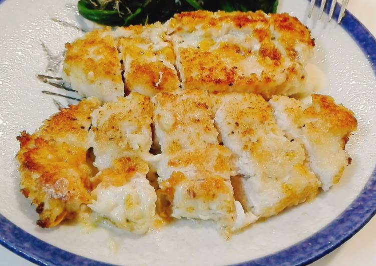 Simple Cheese Chicken Katsu - favorit Anak
