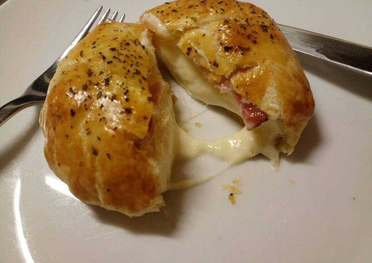 Cheese and speck pie