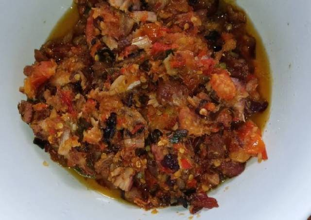 Cakalang Fufu Rabe Rica Favorit