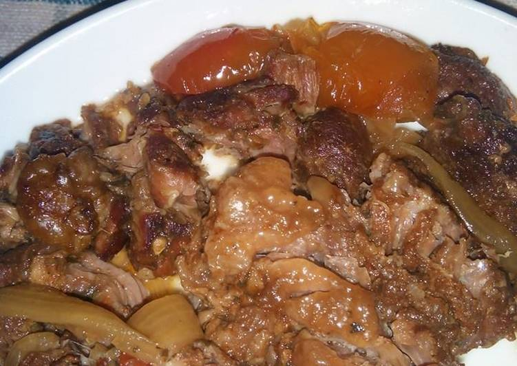 Sweet (and a bit sour) Beef, in Crockpot/Slow Cooker