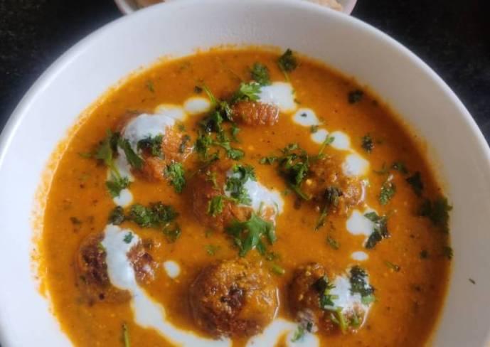 Dudhi kofta curry