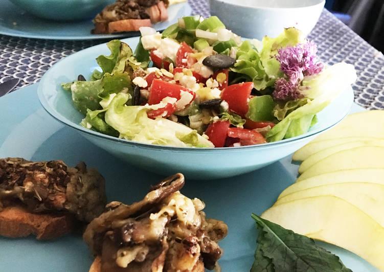 Salade brasserie