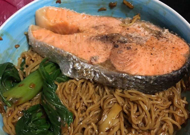 , Recipe: Yummy Wonton Noodle (Salmon Version)