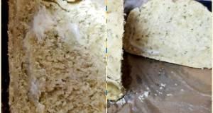 Alfredo stuffed Garlic Bread