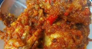 (Recook) Ayam Goreng Balado